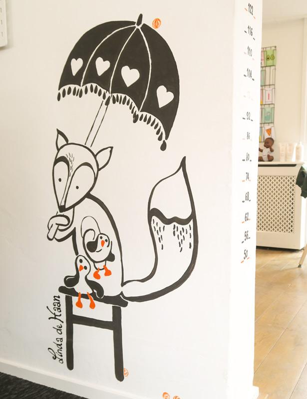 xl illustratiewerk vensters met verhalen